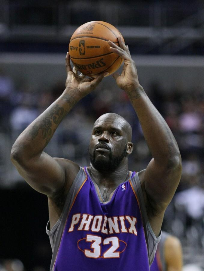 Shaquille+O%27Neal+takes+a+free+throw.+%28Image+by+Keith+Allison%29