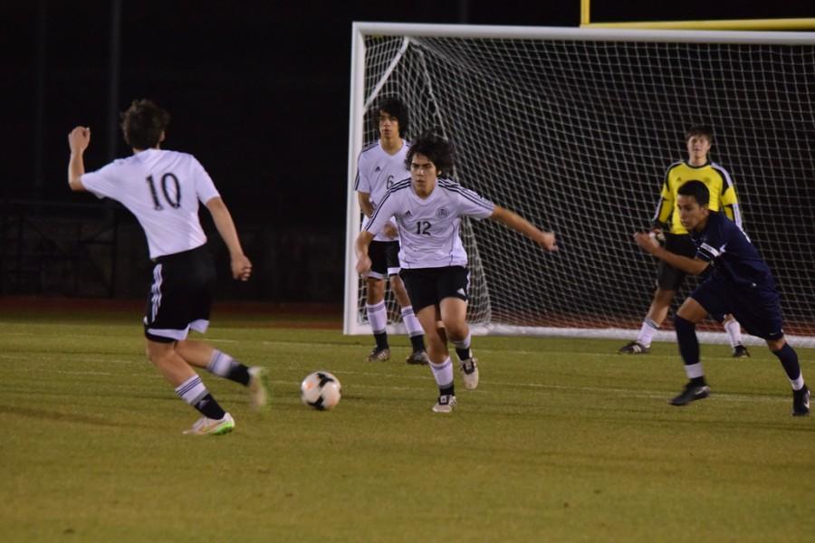 Varsity Soccer vs ESD