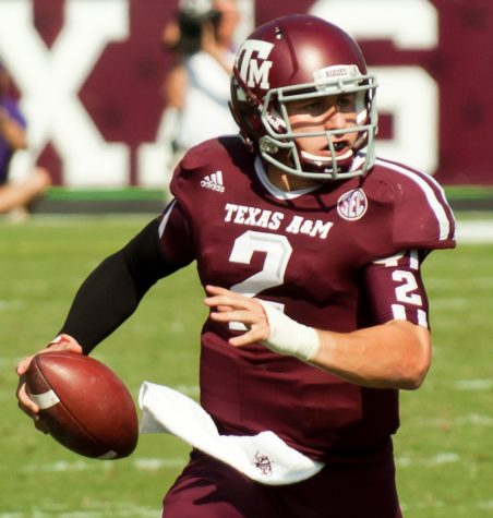 Rhett's role model, Johnny Manziel. (Photo via Wikipedia)