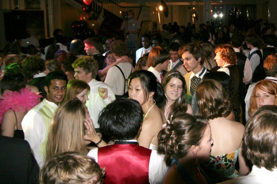 Actual picture from the Freshman Mixer.