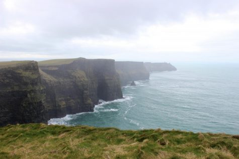 "Cistercian BraveArtists: Ben Woods - ""The Cliffs of Moher"""